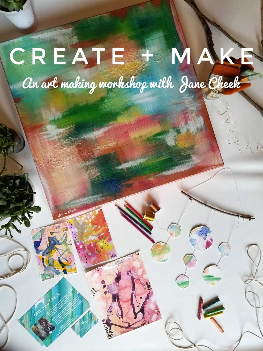 Art class workshop in Cary with Jane Cheek